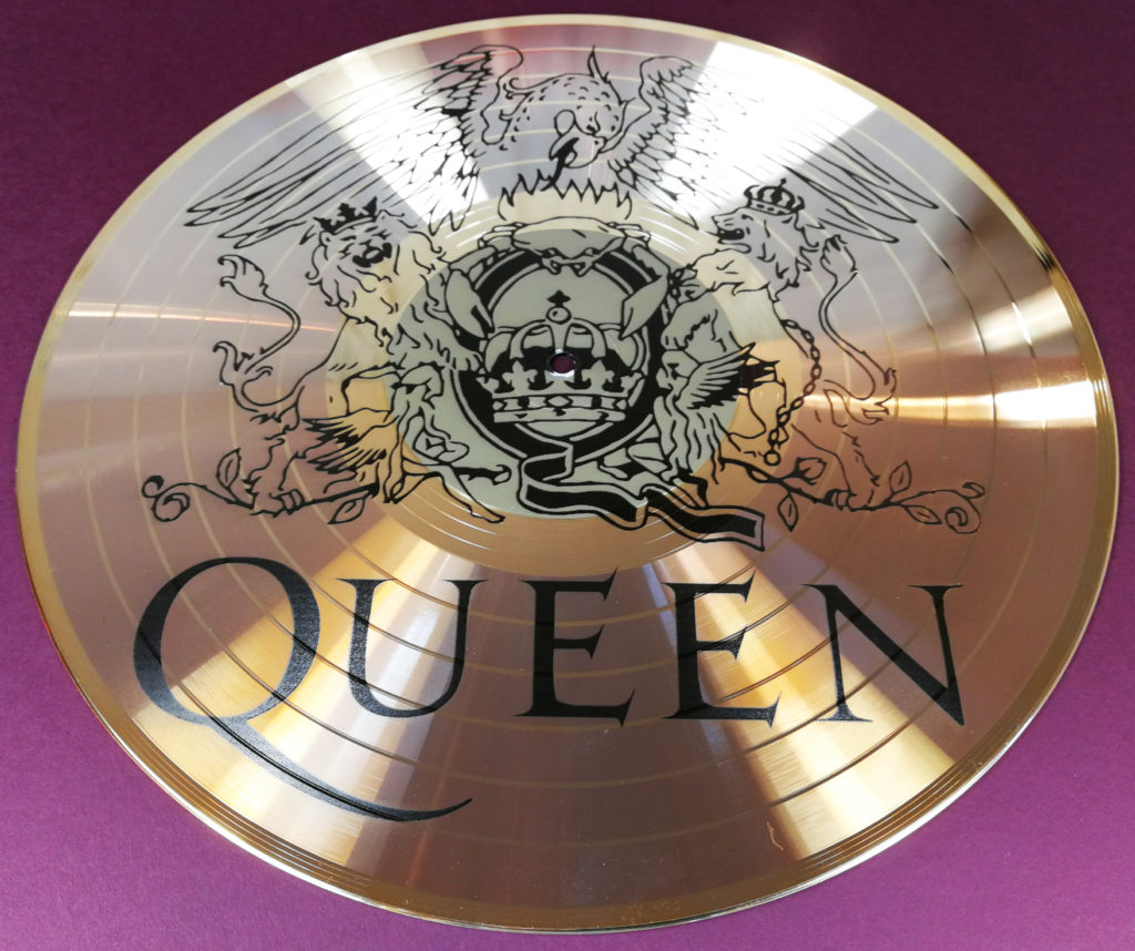 UV LED printed Queen