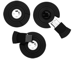 Vinyl record USB Drives