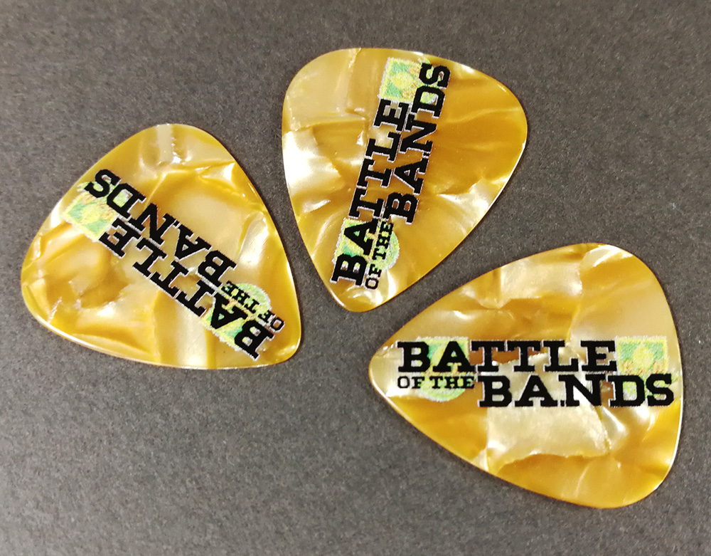 Battle of the Bands guitar picks