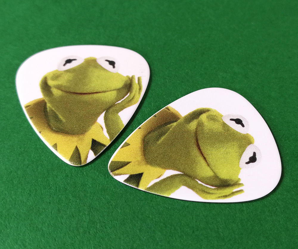 Kermit the Frog guitar pick