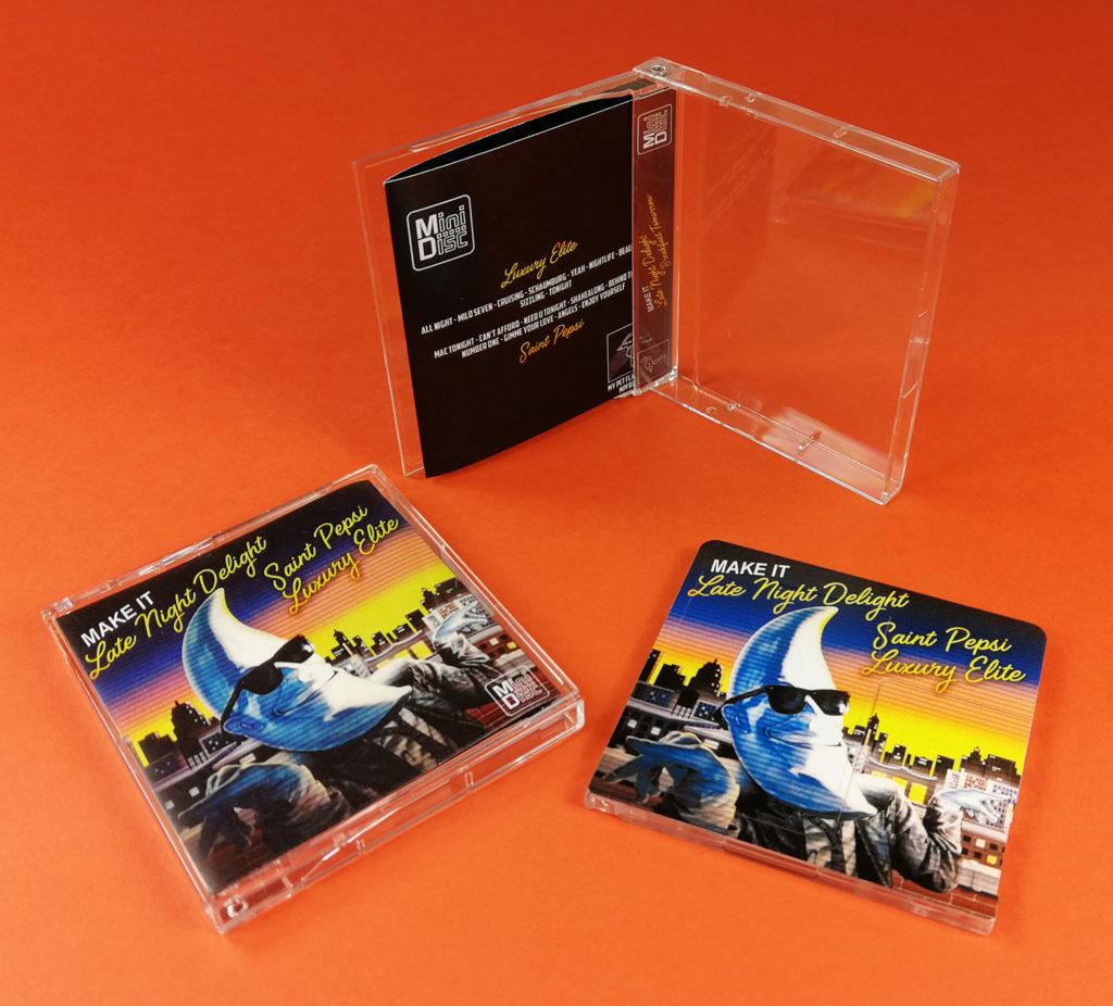 MiniDisc duplication for Late Night Delight by Saint Pepsi / Luxury Elite