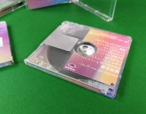 synchro//start See You! MiniDiscs with full colour on-body printing