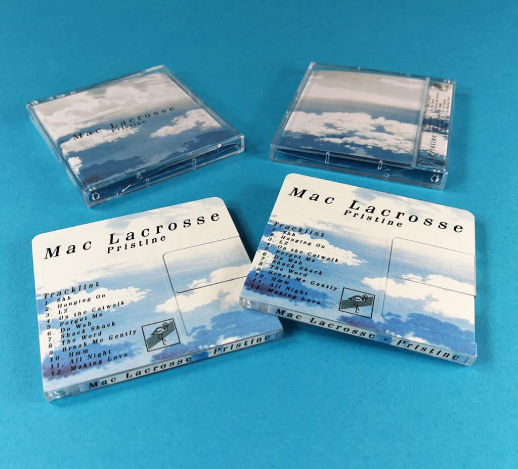 Full colour on-body printed MiniDiscs