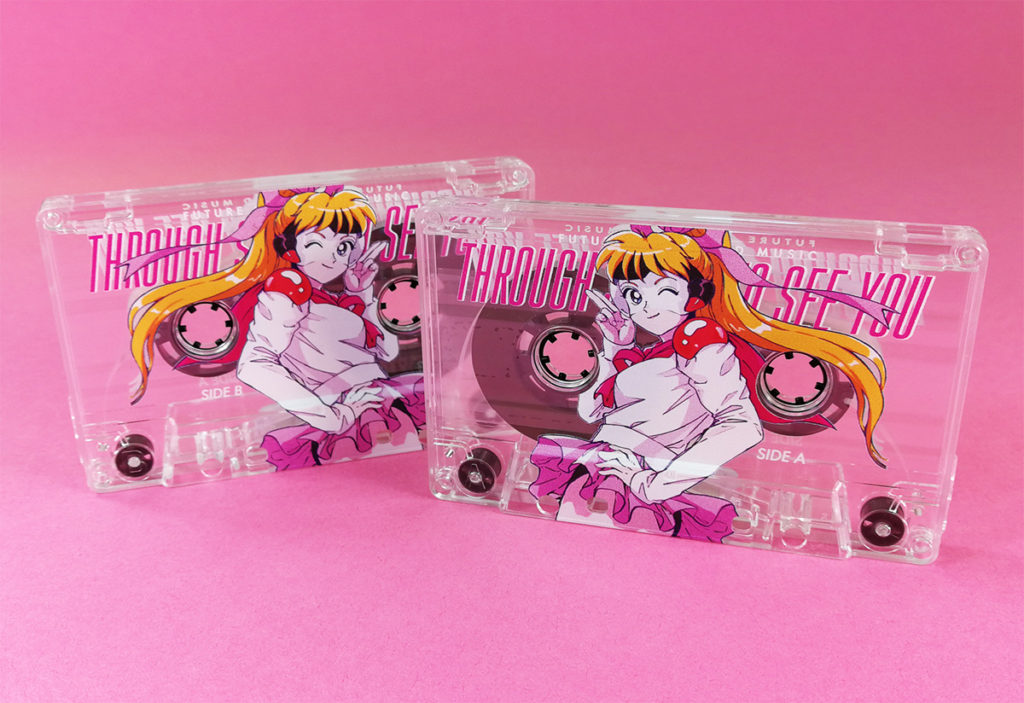 Clear prison cassette tapes with full colour, full coverage UV-LED printing