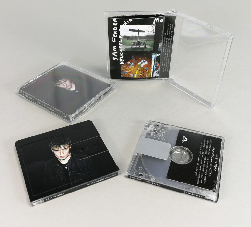 MiniDiscs produced for Sam Fender and his 'Hypersonic Missiles' release on the Polydor/Universal Music label