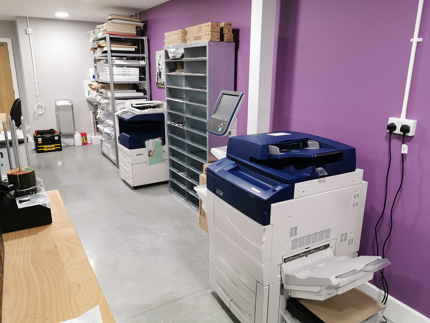 Xerox digital printers