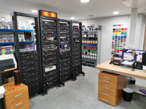 Tape decks and our coloured CD stocks and tape colour selection