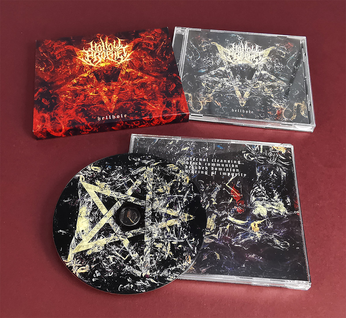 CD jewel cases with booklets and printed outer O-card slipcases