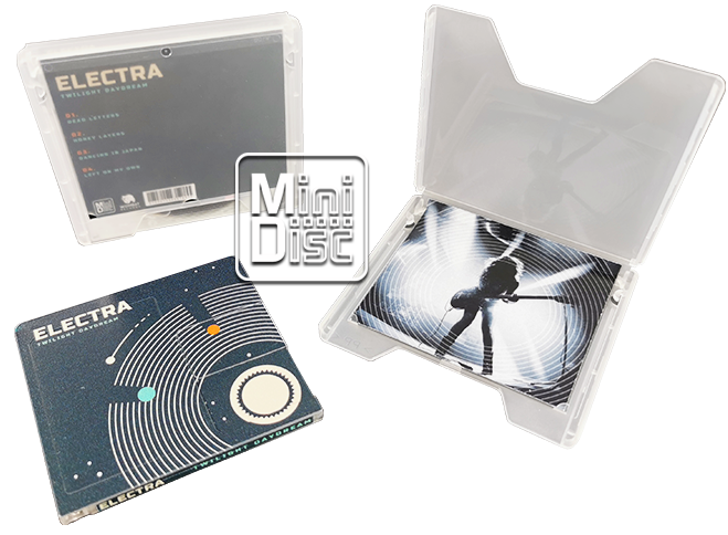 MiniDisc duplication and production in slipcases
