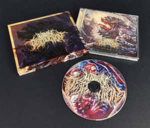 Replicated CDs in jewel cases with booklets and outer O-cards