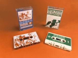 Two different releases of 'From Tokyo to Honolulu' released on Dreamshore Tapes