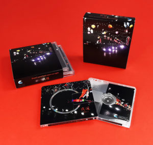 desert sand feels warm at night box set with two MiniDiscs in jewel cases within an outer O-card