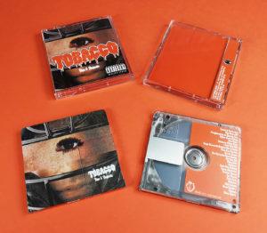 "TOBACCO ""Ripe and Majestic"" MiniDiscs produced for the Rad Cult label"