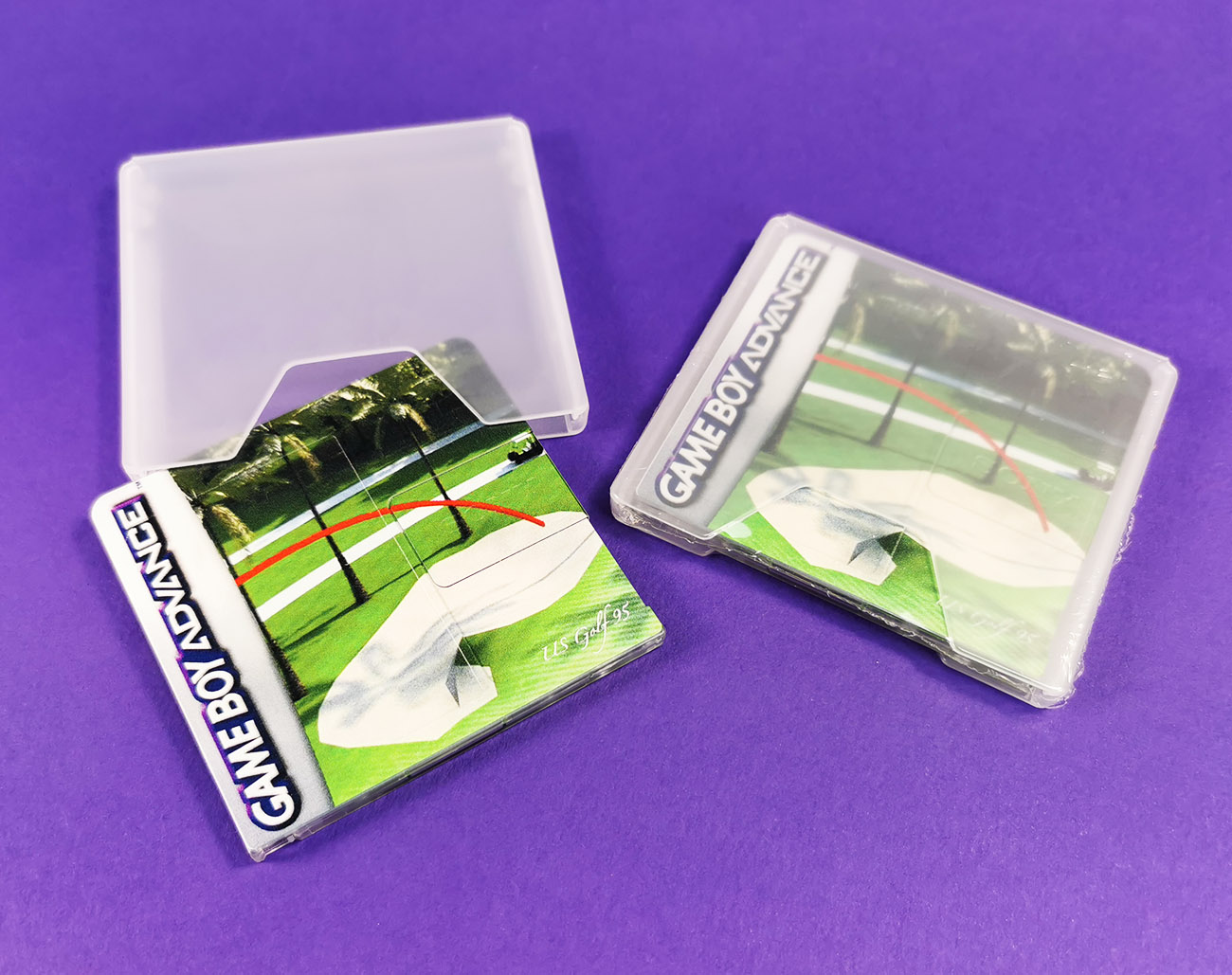 US Golf 95 Game Boy Advance MiniDiscs in slipcases