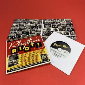 Black Vinyl CDs in 4 Page Premium Wallets
