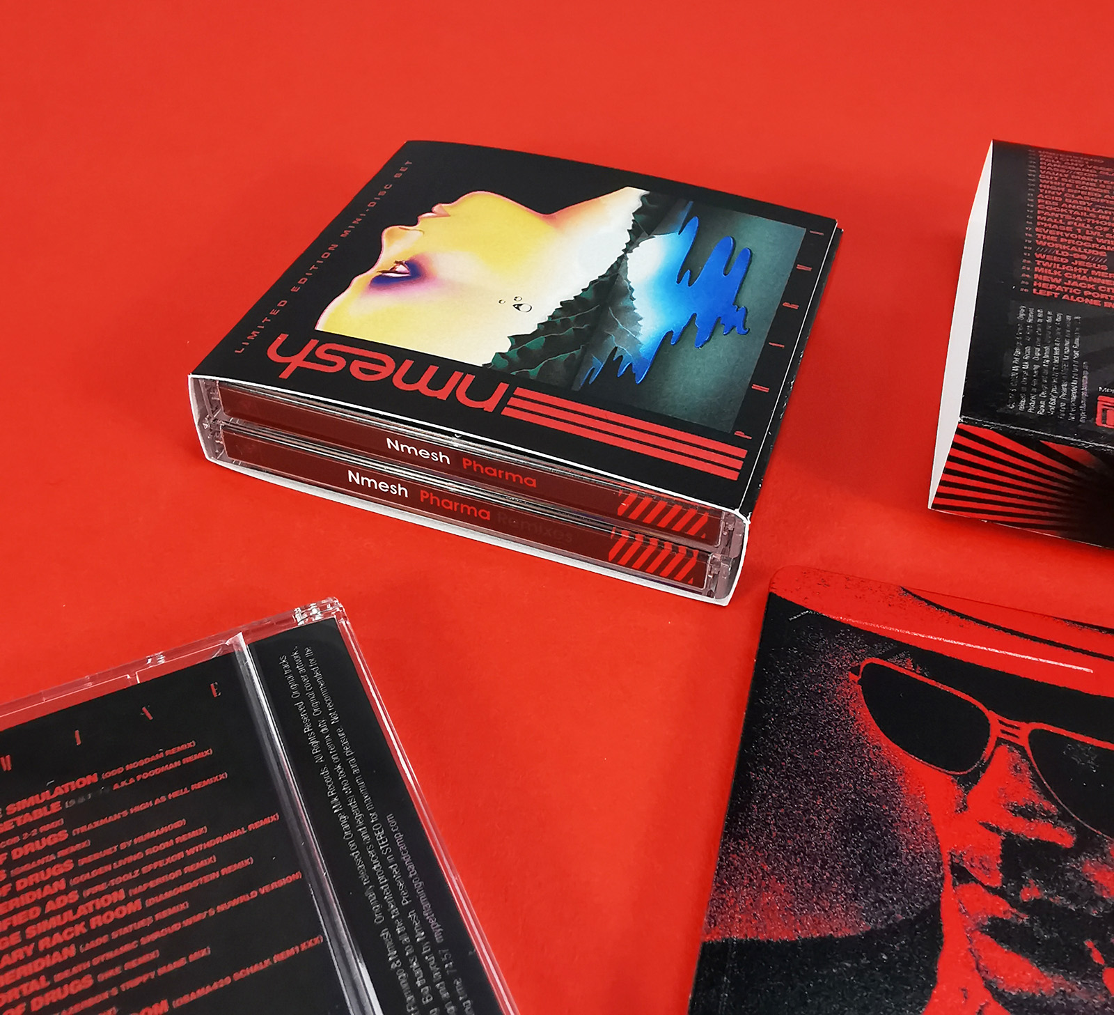 Double MiniDisc set in individual jewel cases and an outer double case printed O-card