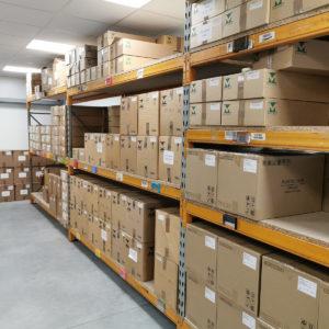 Cassette case storage area