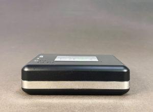 Portable stereo cassette tape player (bottom)